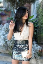 sequins Express skirt