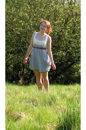 sky blue Primark dress