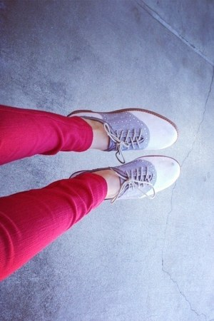 red vera wang jeans - shoes