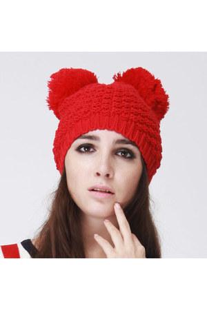 mickey pompom hat