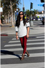Eggshell-korea-sweater-ruby-red-ebay-jeans-dark-gray-marc-jacobs-bag