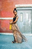 skirt - sheer bodysuit
