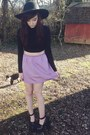 Black-scully-jeffrey-campbell-heels-light-purple-vintage-skirt