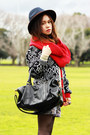 Ruby-red-jeffrey-campbell-boots-sportsgirl-hat-red-scarf