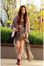 Light-brown-inlovewithfashion-dress-tawny-future-jeffrey-campbell-shoes