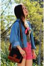 Zara-top-vintage-bag