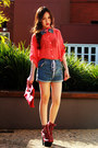 Red-tardy-platform-jeffrey-campbell-boots-romwe-shorts