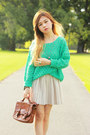 Aquamarine-no-brand-sweater-dark-brown-vintage-bag-aquamarine-no-brand-heels