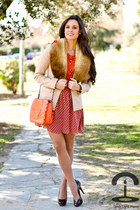 Zara pumps - Pa Market dress - Sfera blazer - Ropa Dibu scarf - See by Chloe bag