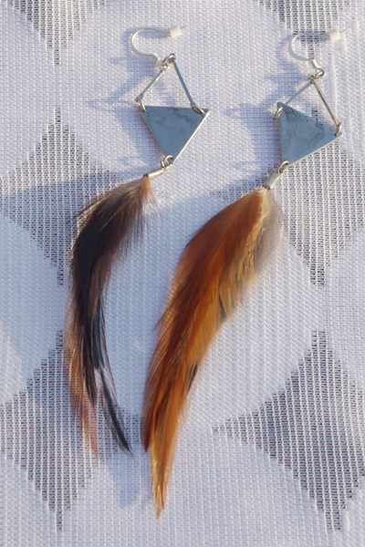brown Crossroads Trading Co earrings