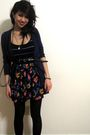 Old-navy-cardigan-urban-outfitters-dress-black-forever-21-accessories-blac
