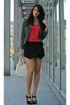 skort Zara shorts