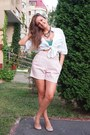 Stradivarius-top-mango-shirt-dkny-bag-zara-shorts-mango-necklace