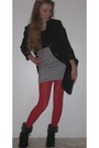 Xcvi-blazer-target-tights-clutch-vintage-bag-st-johns-bay-heels