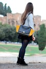 Black-suede-dr-martens-boots-mustard-leather-celine-bag