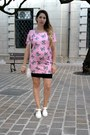 White-rubber-juju-shoes-bubble-gum-cotton-blackfive-dress-white-lace-h-m-bag
