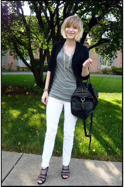 sweater - shirt - necklace - jeans - shoes - accessories