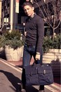 Navy-levis-jeans-dark-brown-aldo-boots-dark-gray-club-monaco-sweater