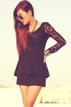 black Oasapcom dress