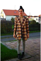 burnt orange eOvu vintage jacket
