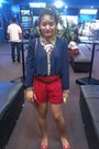 Girl-shopped-ring-red-shorts-tomato-flats-marc-jacobs-necklace