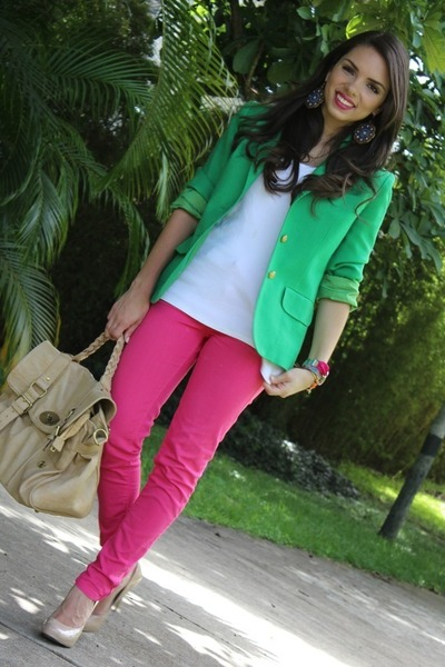 What Colors Go With Hot Pink breast cancer topic: frivolous hot pink pants