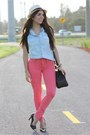 Black-cap-toe-lovely-pepa-x-krack-shoes-salmon-gap-jeans