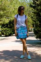 Promod skirt - Zara t-shirt - Primark sneakers