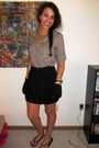 Button-up-forever-21-shirt-forever-21-necklace-zippered-forever-21-skirt-b