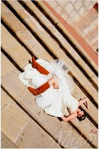 Jessica Mc Clintock dress - Target boots - Chloe sunglasses - Chanel earrings