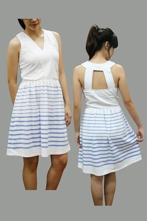 lycra print Davina dress