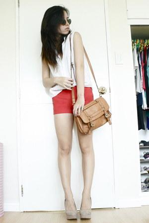 Forever 21 bag - Zara shorts