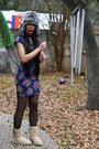 Urban-outfitters-hat-forever-21-dress-urban-outfitters-stockings-uggs-boot