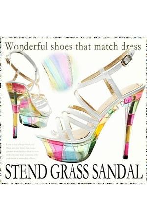 no brand heels
