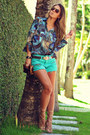 Chiclet-store-shorts-dimy-blouse-schutz-sandals