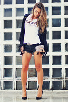 glam coat - glam shorts