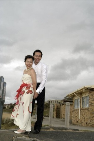 Wedding photo in Melbourne