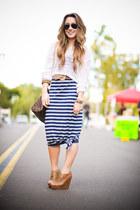 knit Forever21 sweater - maxi dress Target dress - Louis Vuitton bag