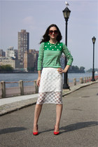 Gap sweater - Koton skirt - Zara heels