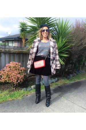 Givenchy boots - etam coat