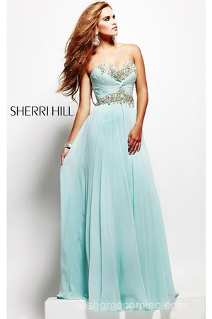 sky blue Sherri Hill 3859 dress