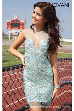 aquamarine Jovani dress