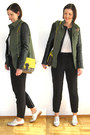Vera-moda-jacket-bik-bok-bag-light-weigth-gina-tricot-pants
