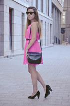 H&M dress - vintage bag - Springfield pumps