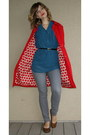 Ruby-red-h-m-coat-turquoise-blue-lauren-conrad-shirt-heather-gray-old-navy-j