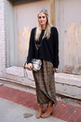 Dark-gray-rebecca-minkoff-bag-dark-green-forever-21-skirt
