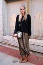 Dark-gray-rebecca-minkoff-bag-dark-green-forever-21-skirt