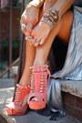 Leather-heels