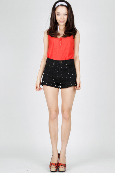superstar DIDD shorts - citrus DIDD top