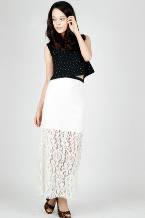 victorian lace DIDD skirt